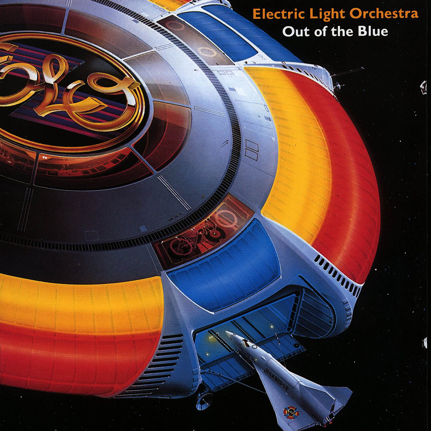 1977 Electric Light Orchestra Out Of The Blue Mecca Lecca
