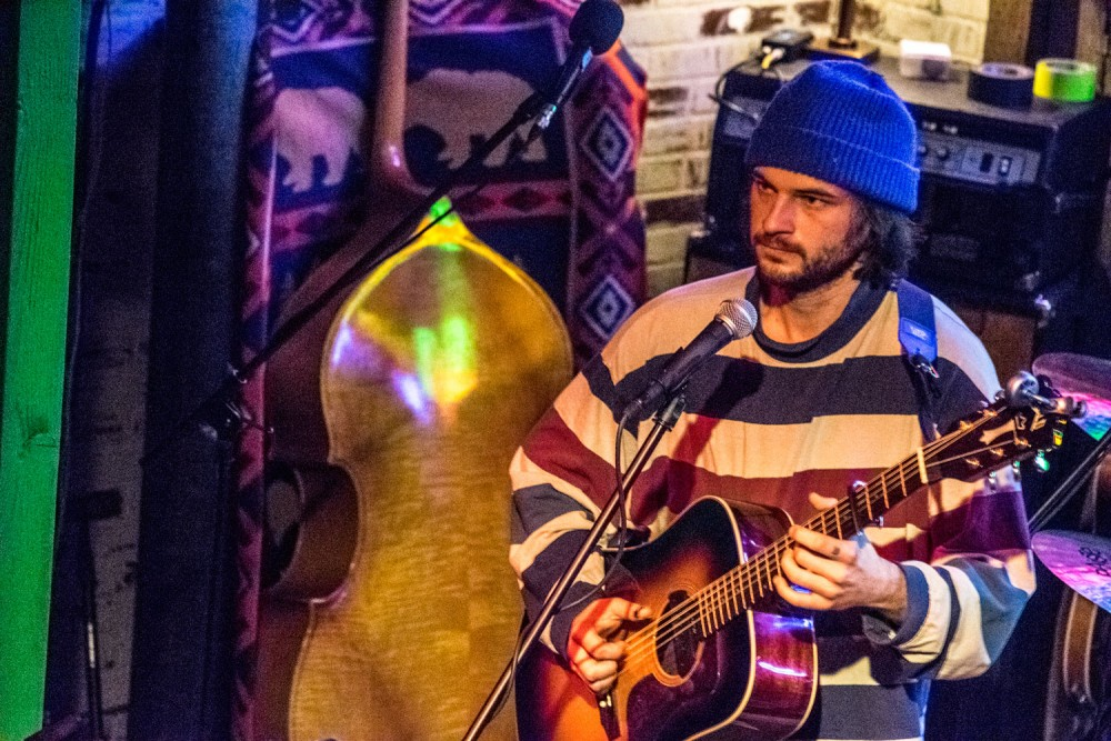 Ryley Walker at Meow Wolf in April